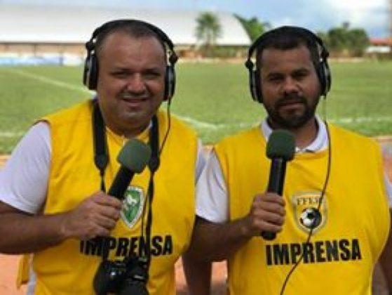Alexandre Jabá e Pedrinho Boiadeiro, da Revista Fair Play (Foto: Josiel Silva)